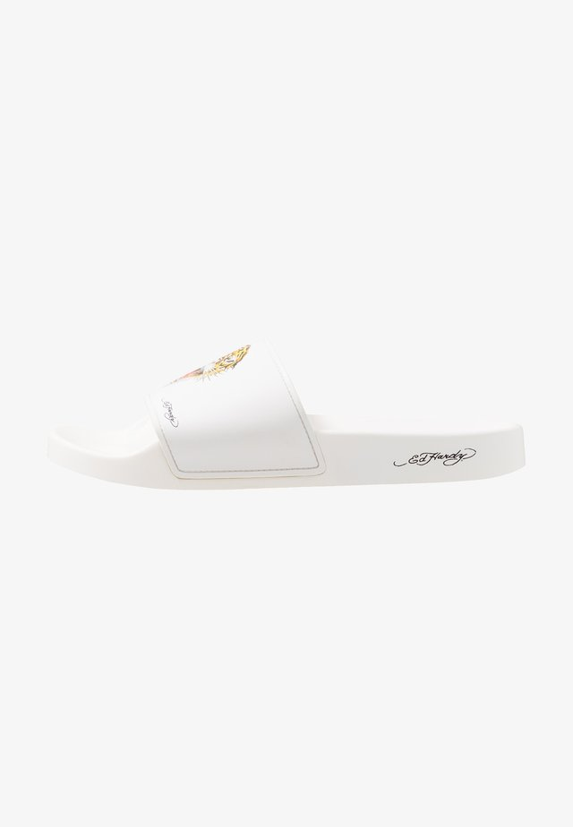 FIERCE-SLIDE - Sandaler - white