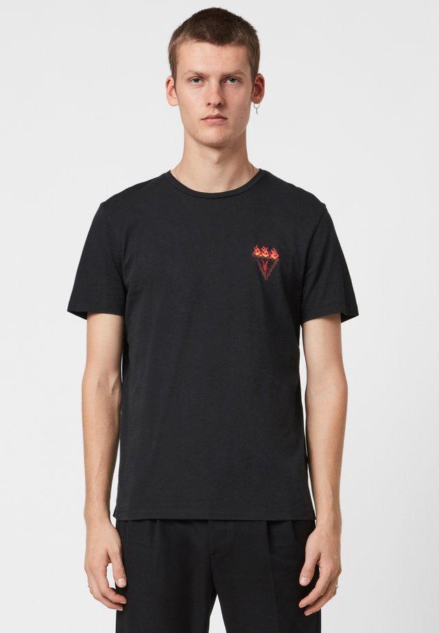 INFERNAL - T-shirt imprimé - black