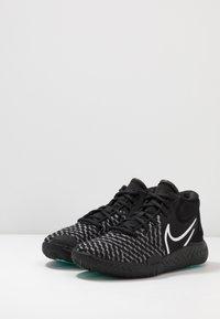 Nike Performance - KD TREY 5 VIII  - Basketball shoes - black/white/aurora/smoke grey - 4