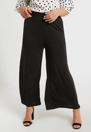LADIES CULOTTE - Pantalon classique - black