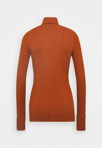 Marc O'Polo PURE - TURTLENECK  LONGSLEEVE FITTED IRREGULAR STRUCTURE - Long sleeved top - bricklane - 1