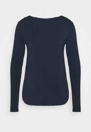 EASY CREW - Long sleeved top - navy