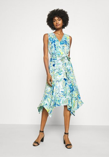 VINZY CASUAL DRESS - Day dress - blue multi