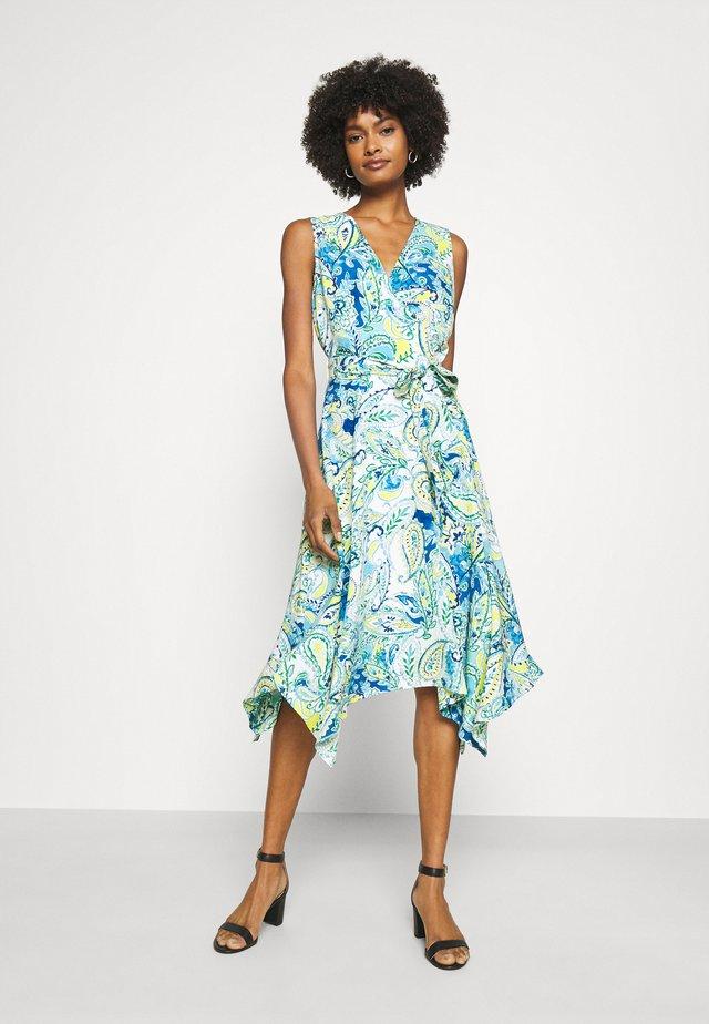 VINZY CASUAL DRESS - Denní šaty - blue multi
