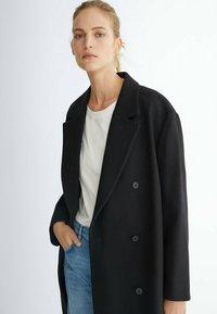 Massimo Dutti - LANGER 06421640 - Classic coat - black - 2