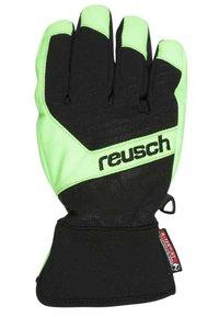 Reusch - TORBENIUS R-TEX JUNIOR - Guanti - black/neon green - 1
