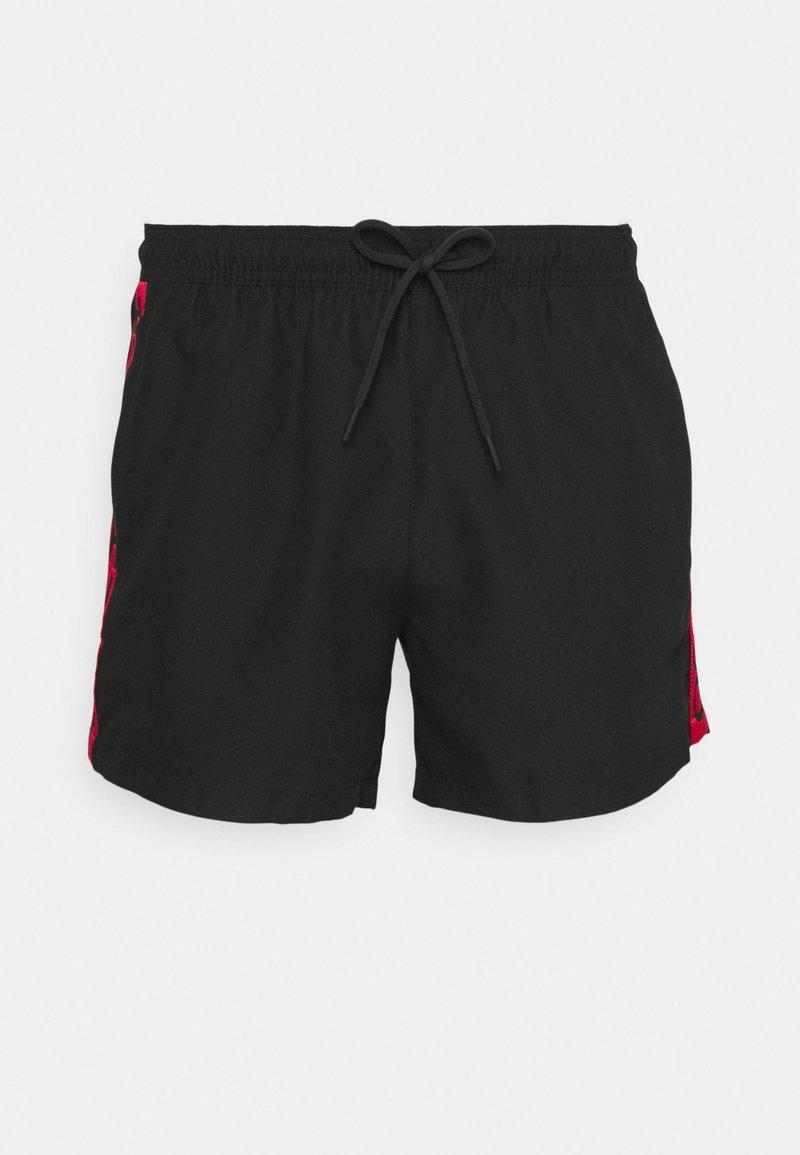 HUGO - DOKU - Swimming shorts - black