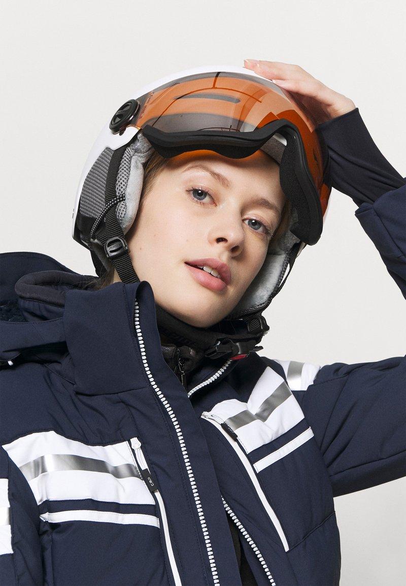 Alpina - ARBER VISOR UNISEX - Helmet - white matt