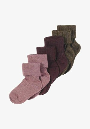 6-PACK - Socks - nostalgia rose