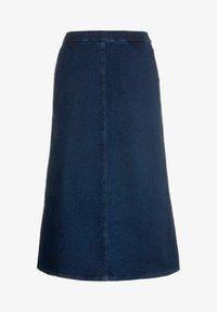 Ulla Popken - A-line skirt - darkblue - 3