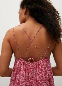 Mango - Maxi dress - rosa - 3