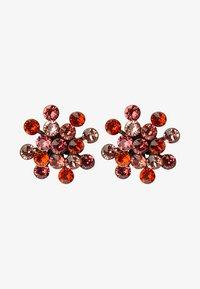 Konplott - MAGIC FIREBALL - Earrings - coralline/orange antique - 1