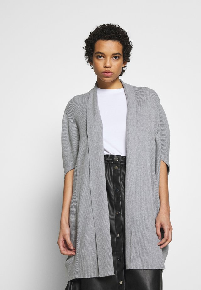 WENDY - Vest - grey melange