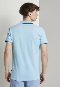 TOM TAILOR DENIM - Polo shirt - soft sky blue melange - 2