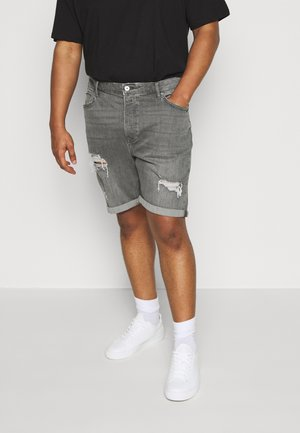 Denim shorts - grey