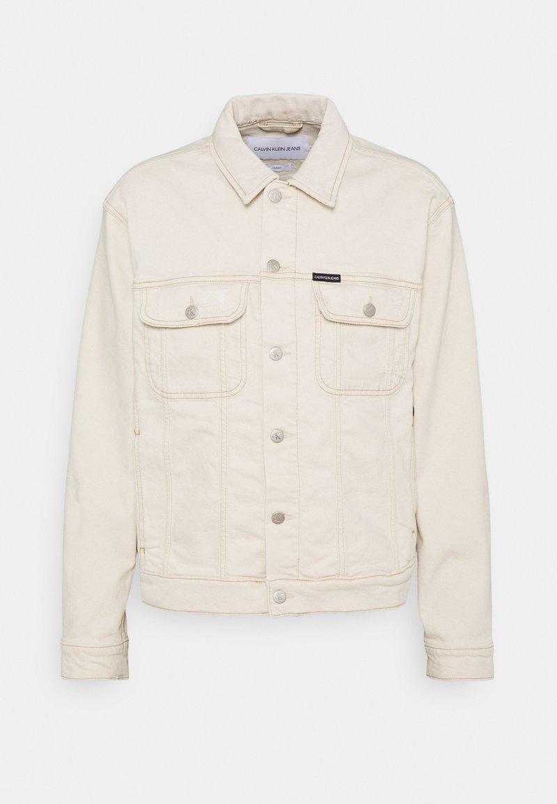 Calvin Klein Jeans - REGULAR JACKET - Veste en jean - denim light