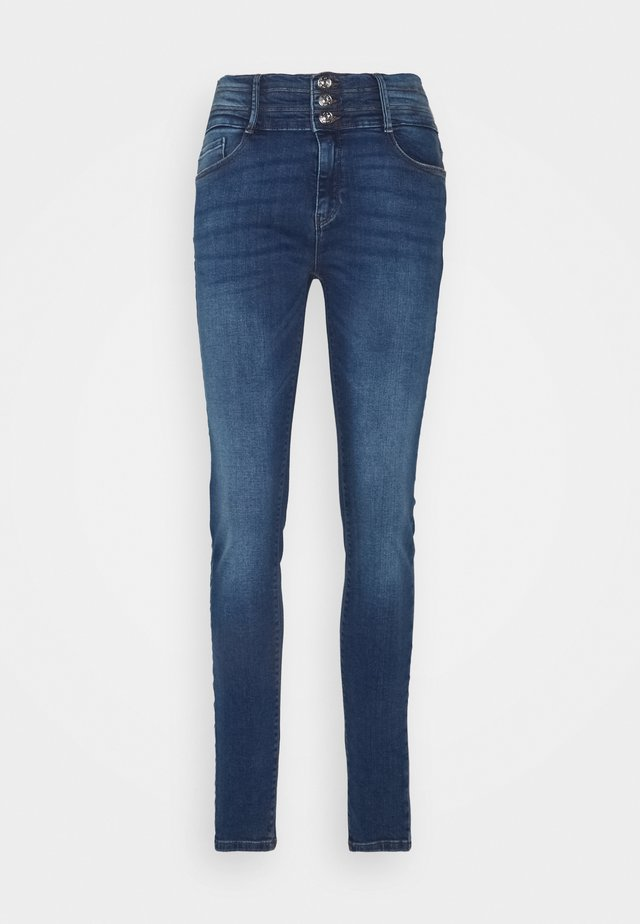 ONLPAOLA TRIPLE WAIST LIFE - Skinny džíny - medium blue denim