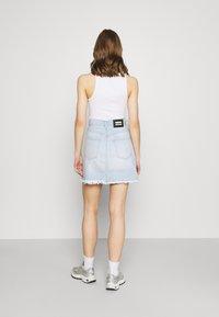 Dr.Denim - ECHO SKIRT - Mini skirt - superlight blue - 2