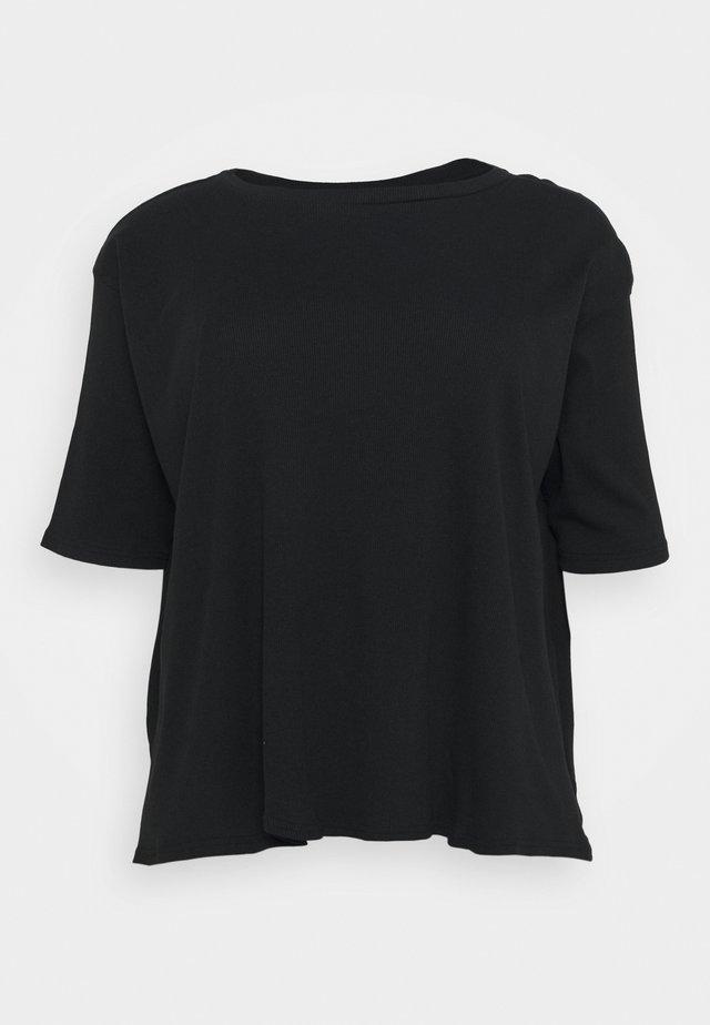 HANKY - Top sdlouhým rukávem - black