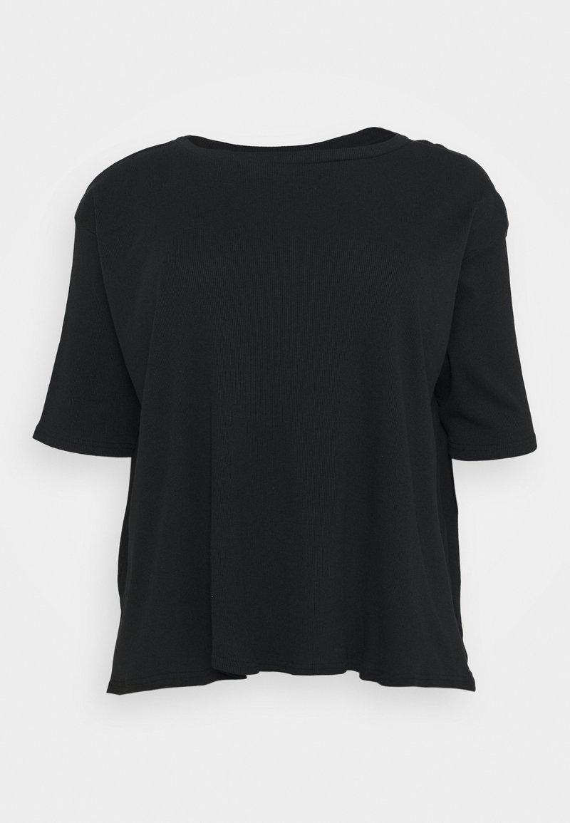 Simply Be - HANKY - Top sdlouhým rukávem - black