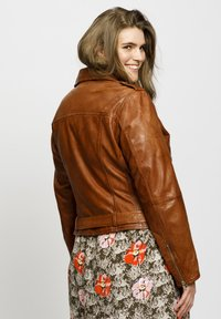 No.1 by Ox - Leather jacket - dark cognac - 3