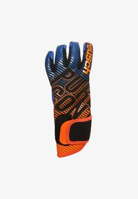 Reusch - PURE CONTACT 3 S1  - Goalkeeping gloves - black / shocking orange / deep blue - 1