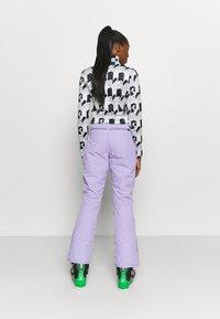 Brunotti - SUNLEAF WOMEN SNOWPANTS - Zimní kalhoty - lavender - 2