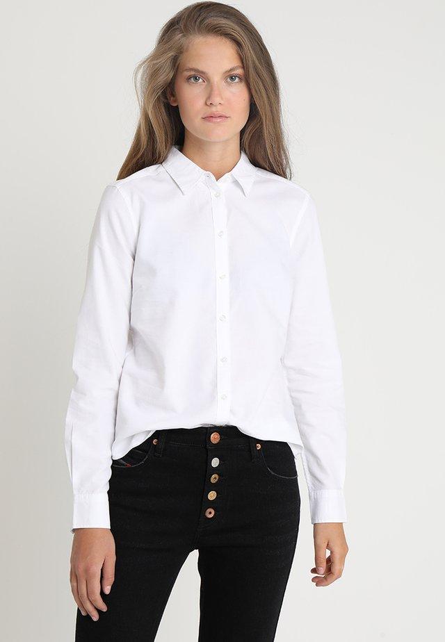JESSIE - Button-down blouse - white