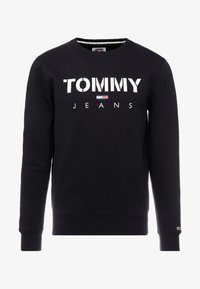 Tommy Jeans - NOVEL LOGO CREW - Sweatshirt - black - 3