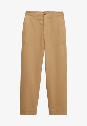 SLIM FIT - Trousers - brown