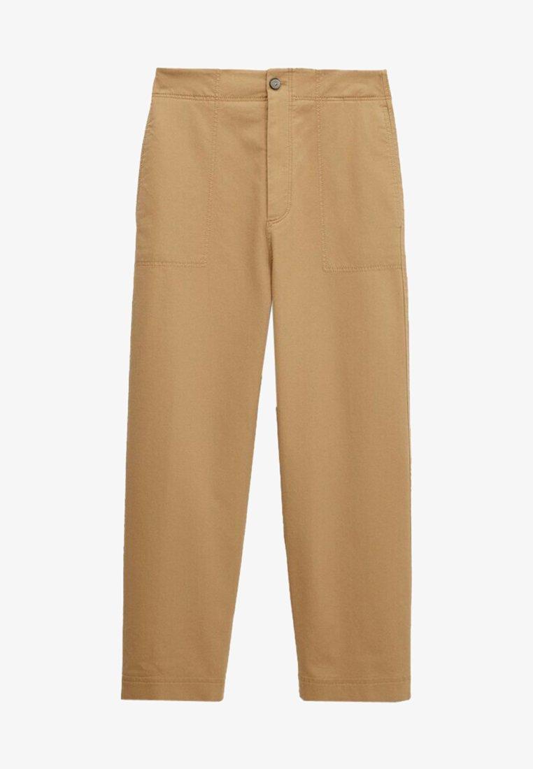 Massimo Dutti - SLIM FIT - Pantalon classique - brown