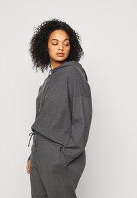 Even&Odd Curvy - Sweatshirt - dark grey - 4