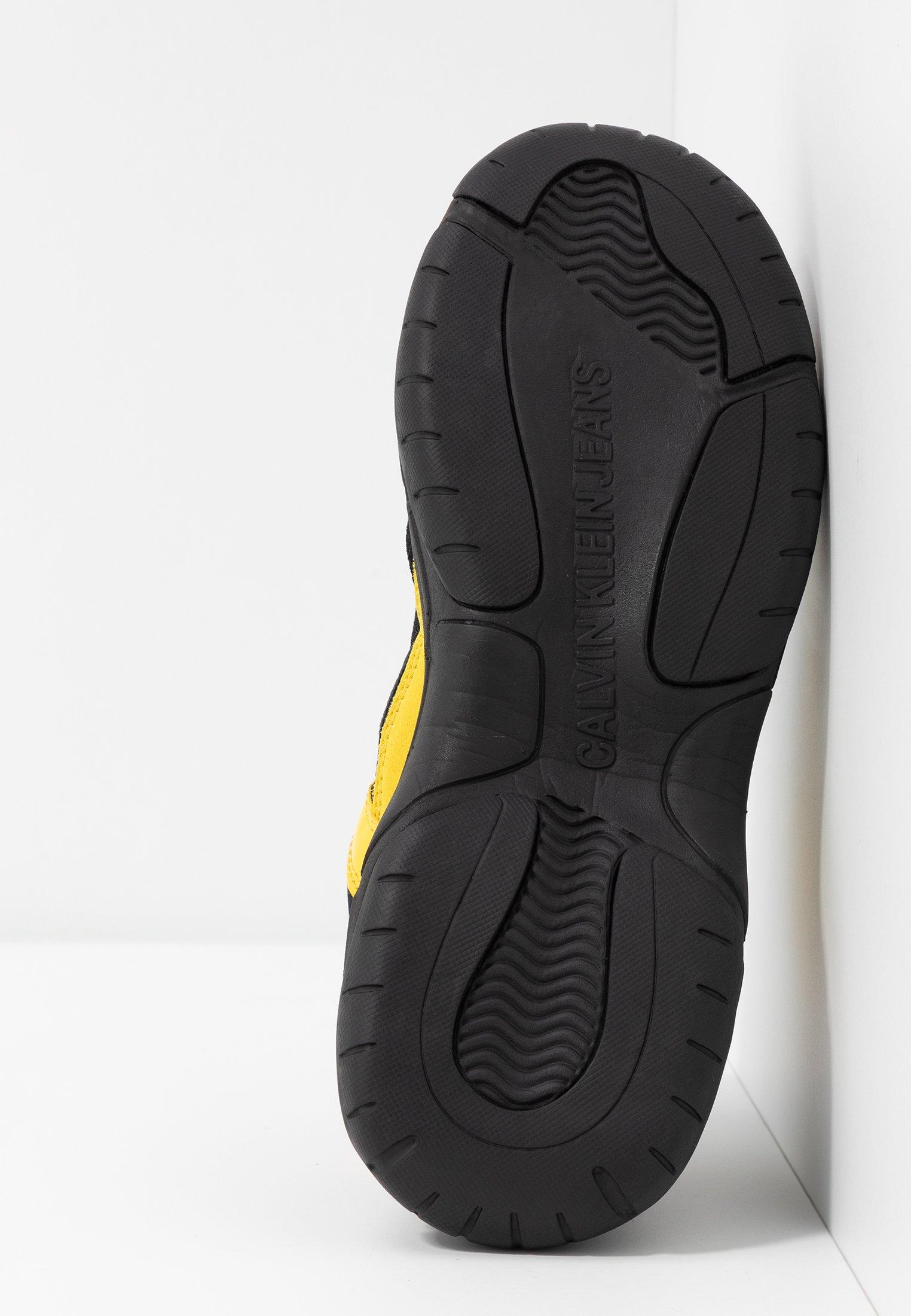 Sale 2020 Discount Women's Shoes Calvin Klein Jeans MAYA Trainers black/cyber yellow acI1kHEeY eMWlwqvw7