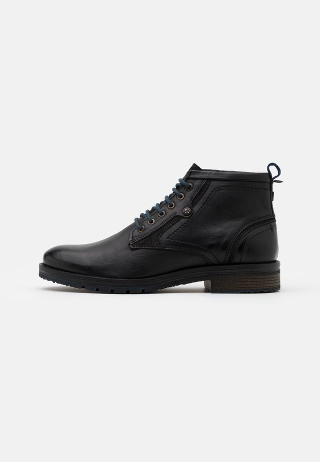 BOOGIE MID - Lace-up ankle boots - anthracite