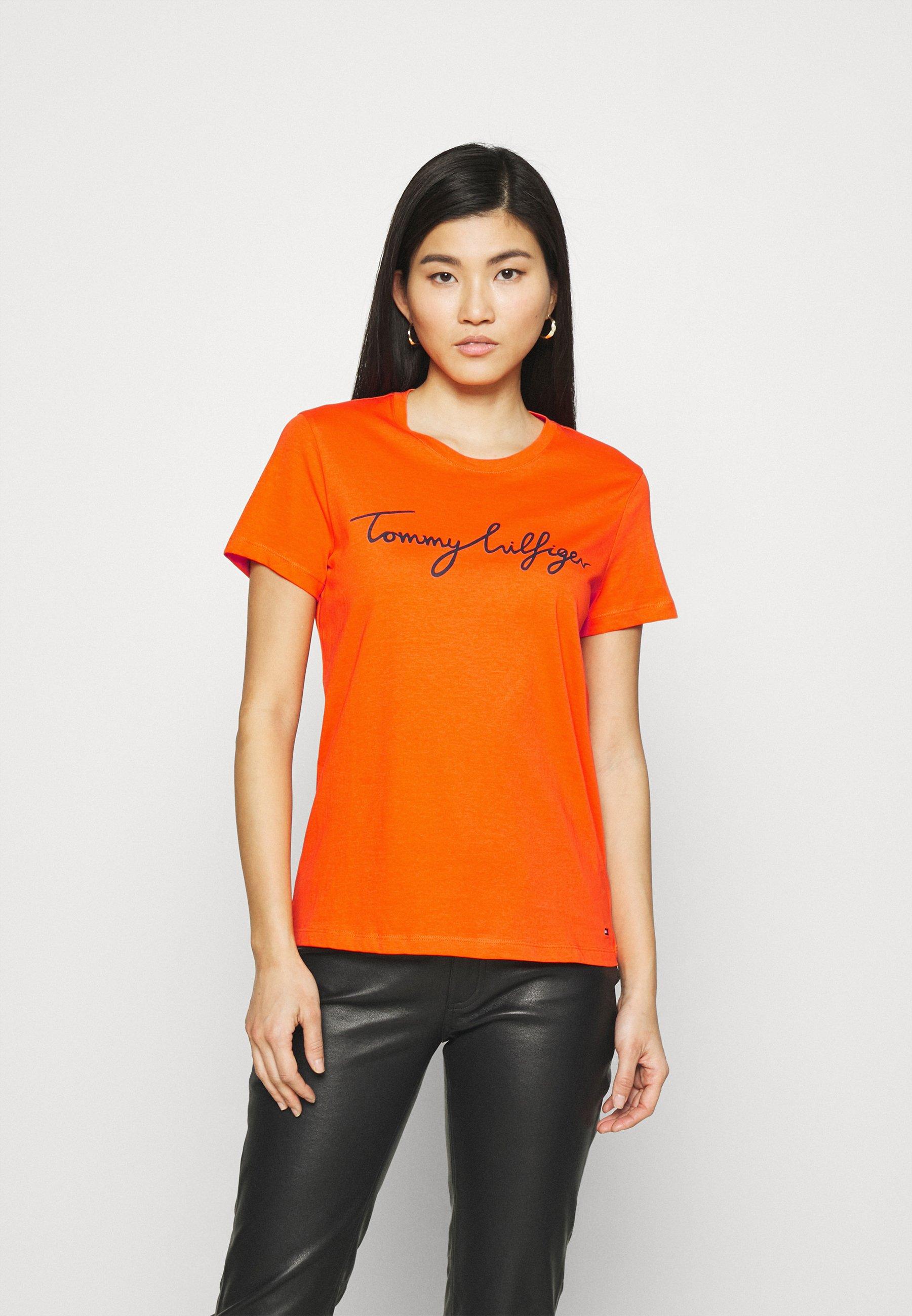 Damen CREW NECK GRAPHIC TEE - T-Shirt print