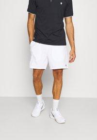 K-SWISS - HYPERCOURT SHORT - Sportovní kraťasy - white - 0