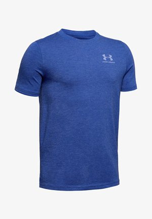 Print T-shirt - royal medium heather