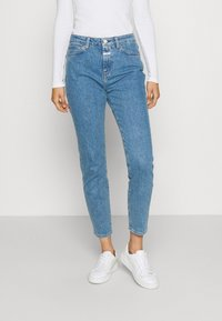 CLOSED - BAKER HIGH - Slim fit jeans - mid blue - 0