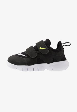 FREE RN - Neutral running shoes - black/white/anthracite/volt