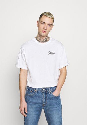 TEE UNISEX - T-shirt med print - white