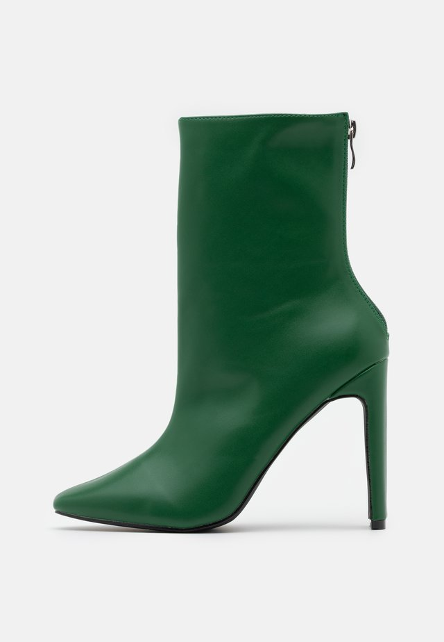 ALEENA - High heeled ankle boots - green