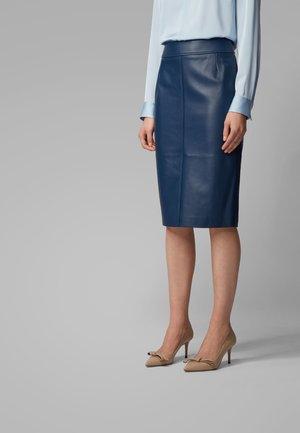 SELRITA - Pencil skirt - dark blue