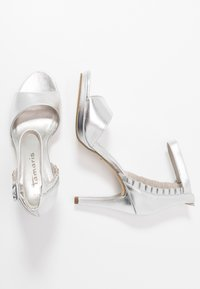 Tamaris - High heeled sandals - silver - 3