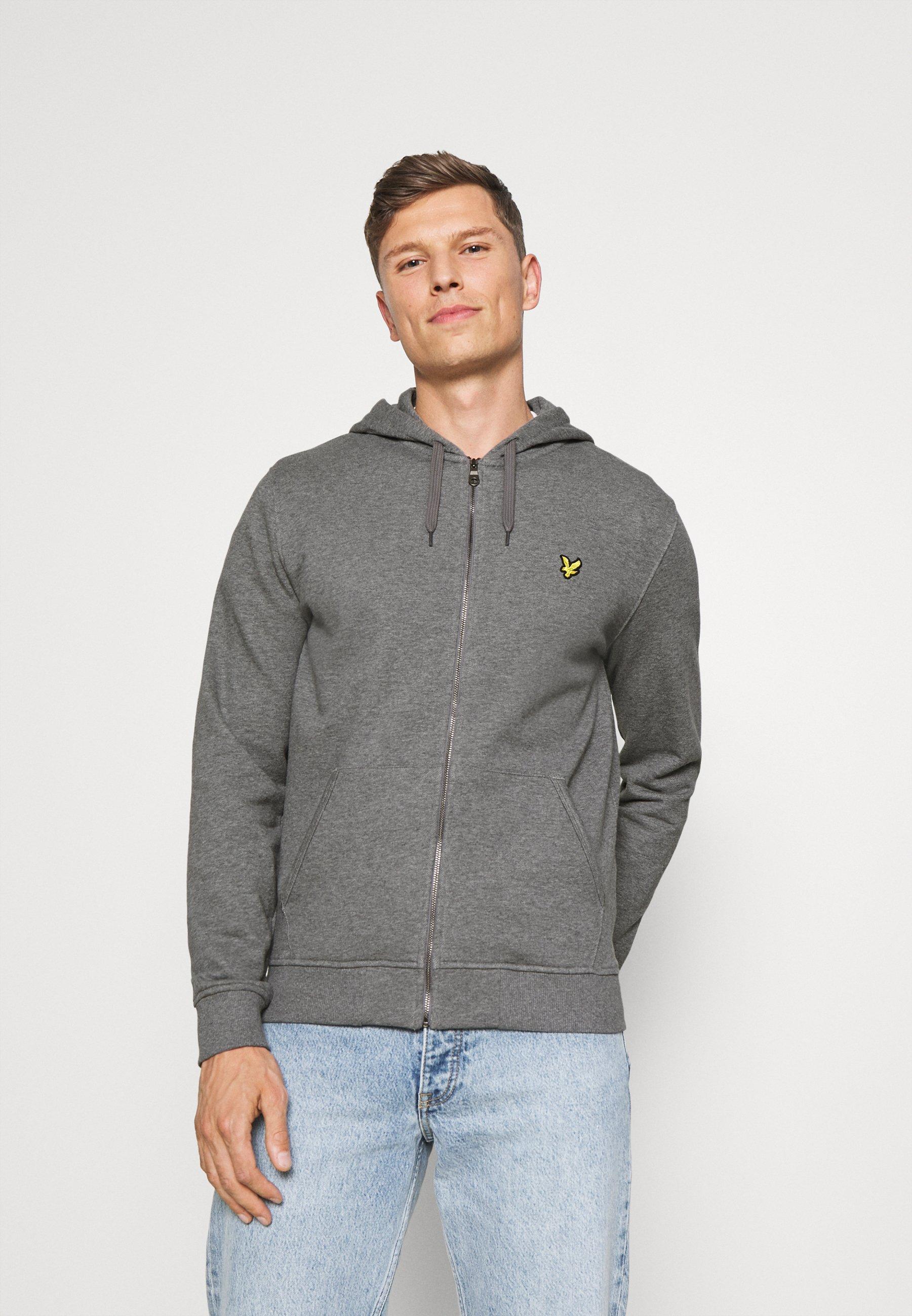 Men ZIP THROUGH HOODIE - Zip-up sweatshirt