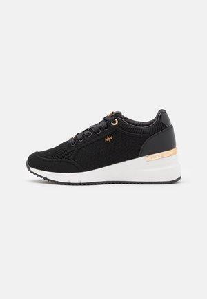 GLASS - Sneakers laag - black