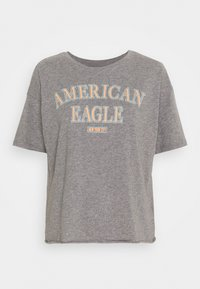 American Eagle - BRANDED BRIGHTS SANTA MONICA TEE - Print T-shirt - heather gray - 0