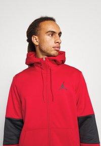 Jordan - AIR THERMA FULL ZIP - Forro polar - gym red/black - 3