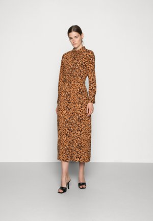 ADELEIDE DRESS - Day dress - pecan animal