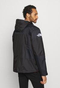 The North Face - STEEP TECH LIGHT RAIN JACKET - Waterproof jacket - black - 2