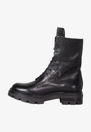 CITARONA - Lace-up boots - schwarz